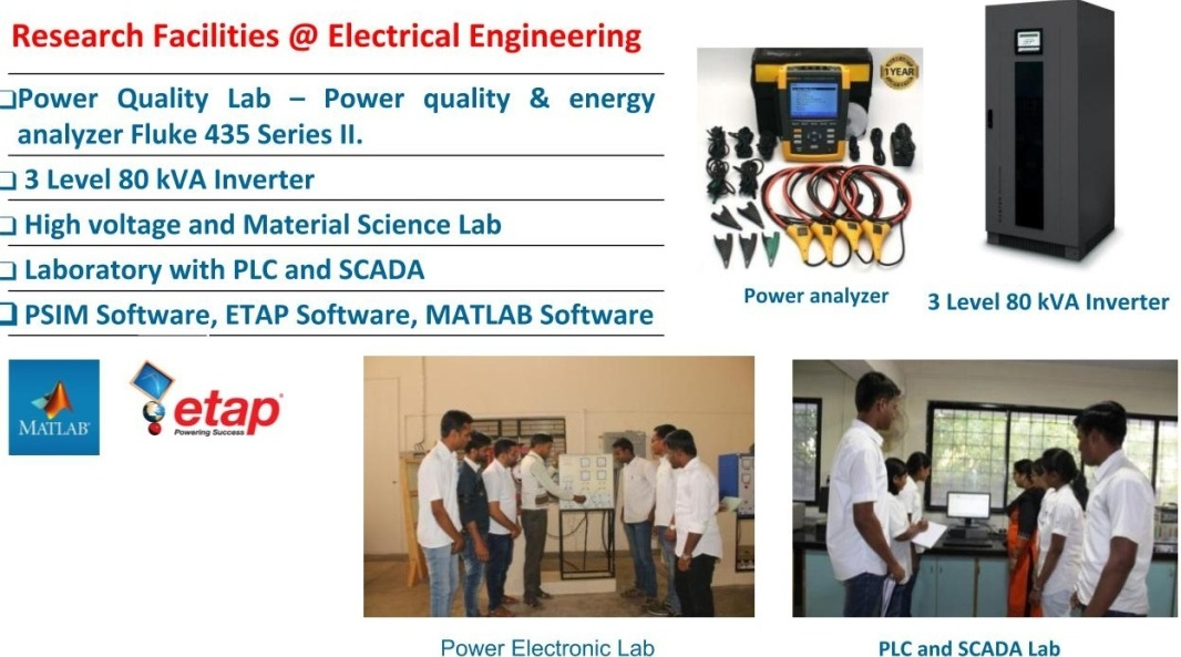 Research Facilities @ Dept. of Electrical Engineering